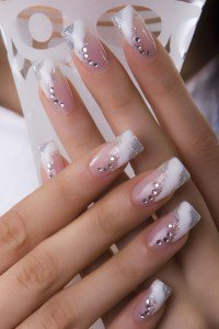 Nail Designs Pink And Grey